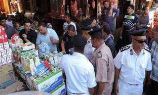 خلال 24 ساعة.. «شرطة التموين» تضبط 1386 قضية تموينية متنوعة