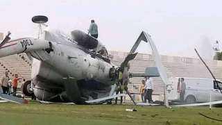 تحطم طائرة تقل سيولة نقدية بمدينة ترهونة في ليبيا